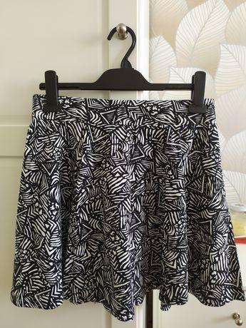 Nowa, czarno-biała spódniczka C&A rozm.M