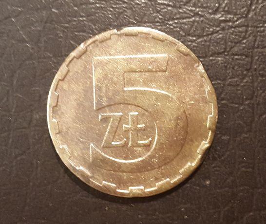 Moneta obiegowa 5 zl 1981