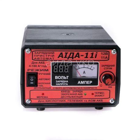 Зарядное устройство Аида 11i для гелевых и кислотных аккумуляторов