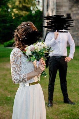suknia ślubna mabell viola piekut xs/s