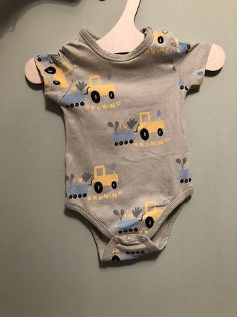 Body niemowlęce, reserved r56, traktorki