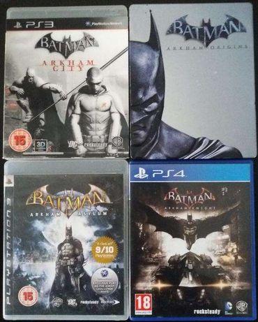 Jogos Batman Playstation PS3 e PS4
