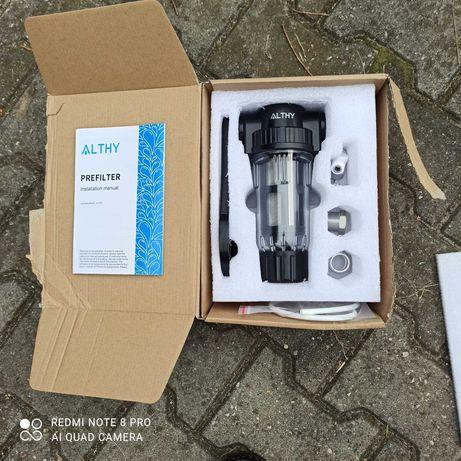 Filtr ALTHY  System wstępnej filtracji  wody,  rdza, kurz, piasek