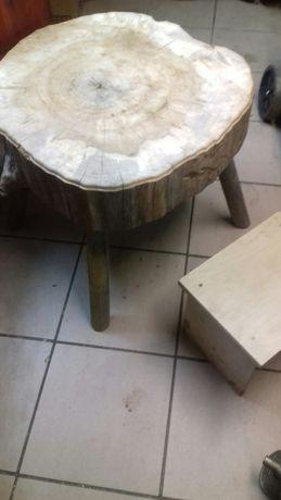 Drewniany blat na stoł