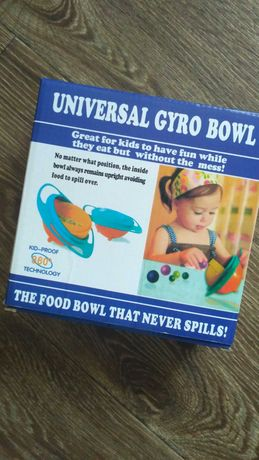 Детская тарелка непроливайка