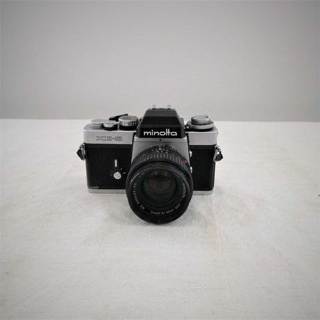Maq. Foto Analog. Minolta XE-5 50mm + 2xPilha CR1/3N