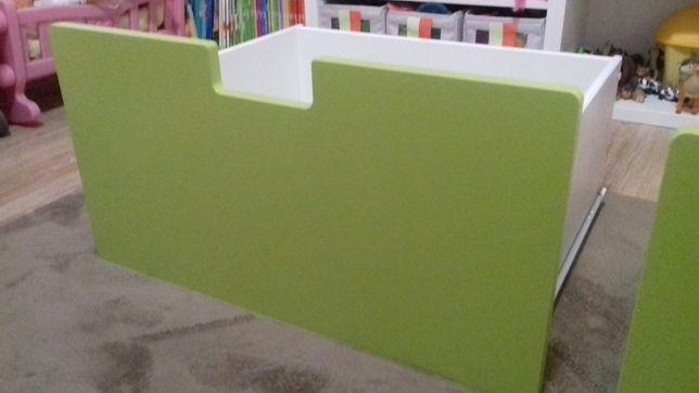 Szuflada Ikea Stuva zielona duża