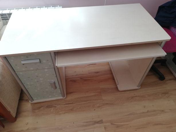 Meble młodzieżowe zestaw komplet biurko komoda szafa łóżko fotel