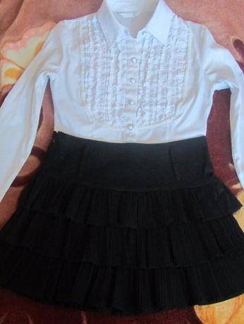 Школьная юбка и блуза от 10 лет