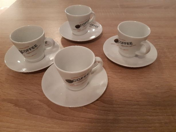 Zestaw 4 filiżanek do espresso