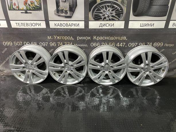 Диски 16R 5x112 6.5J ET48 DIA66.6 Mersedec Skoda Seat VW