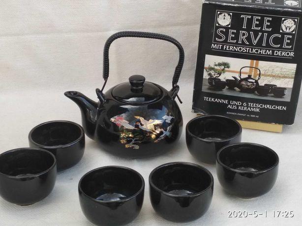 Чайний сервіз для чайної церемонії.