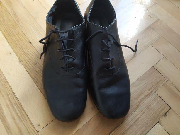 Продам шкіряні бальні туфлі 22.5см