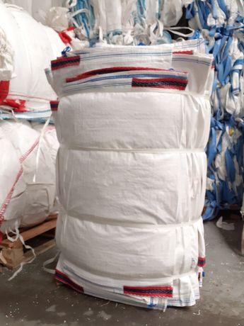 Big bag bagi idealne na gruz kamień śmieci 93x93x82 cm z górą otwarta