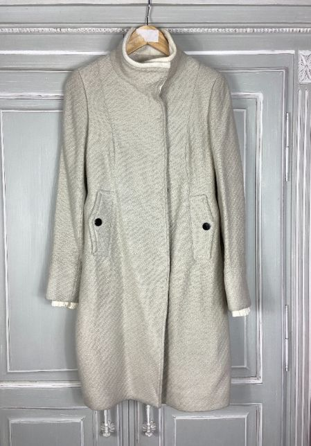 Шерстяное пальто costume national cnc like max mara escada