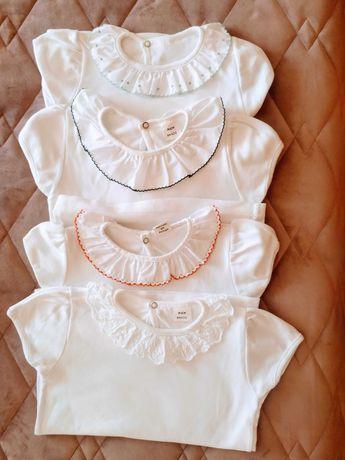 Camisolas de manga curta super giras com gola de folho!