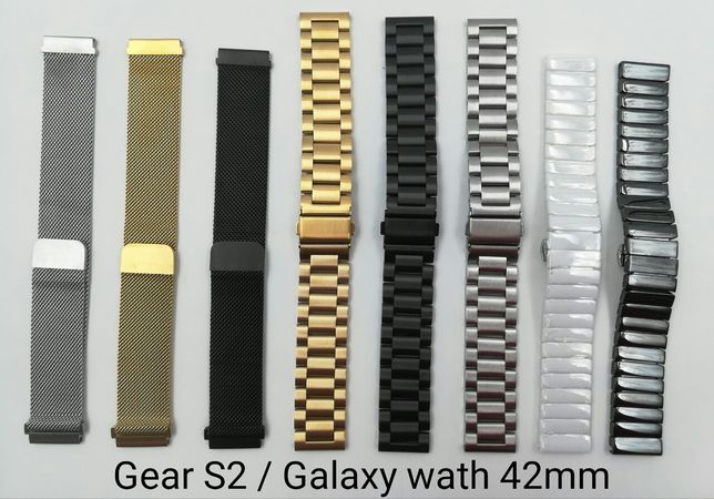 Ремешок Samsung Gear S2 20 S3 22 Galaxy Watch 46 active Fit e pro 2 38