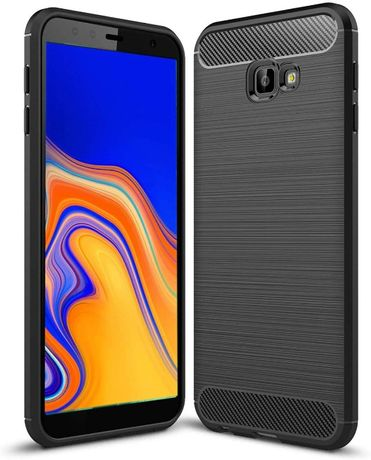 Case Etui Pancerne Carbon do Samsung Galaxy J4 Plus 2018 (J415)
