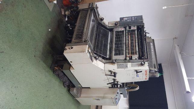 Komori Sprint 26 maszyna offsetowa 1 kolor A2+ drukarnia Łódź