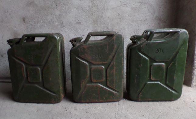 OKAZJA 3 x kanister PRL z Bornego Sulinowa