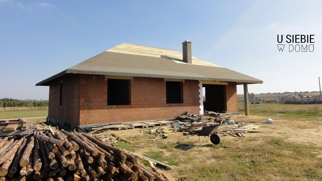 Budowa domów Deskowanie Papowanie Więźba dachowa