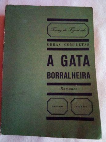A Gata borralheira de Tomaz de Figueiredo 2º edicao 1963