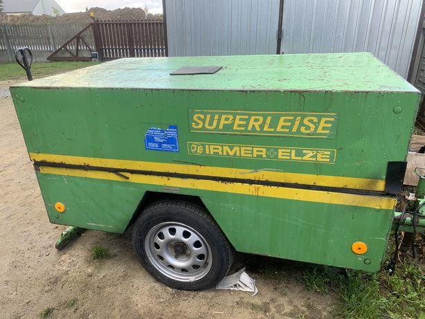 Kompresor srubowy Irmer Elze Superleise Deutz