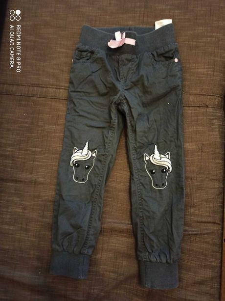 Spodnie ocieplane 104
