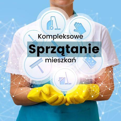 Kompleksowe sprzątanie mieszkań/domów | pranie tapicerek/dywanów