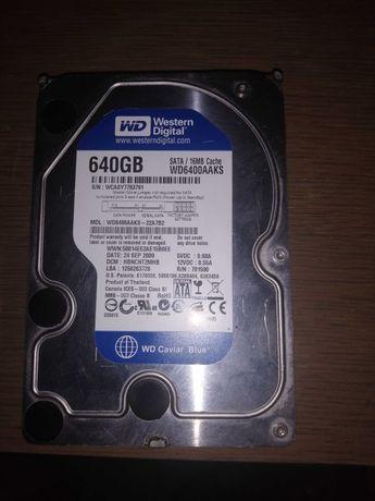 2 Dyski Twarde Seagate 1TB/WD 640GB.