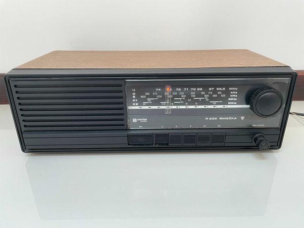 Radio vintage Unitra Diora Śnieżka R-206
