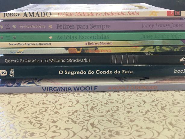 Livros infantis do PLN  em segunda mão