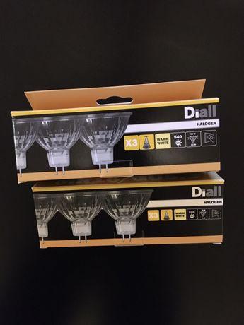 Żarówki Diall halogen GU5.3 MR16 5 sztuk