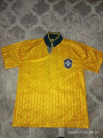 Koszulka oldschool Bebeto Brazylia