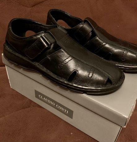 Buty męskie duży rozmiar skóra naturalna jak NOWE Claudio Conti deichm