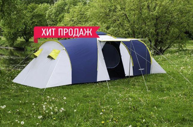 Хит Продаж! Польска Палатка Presto Nadir 6-ти местная + Пол в Тамбур!