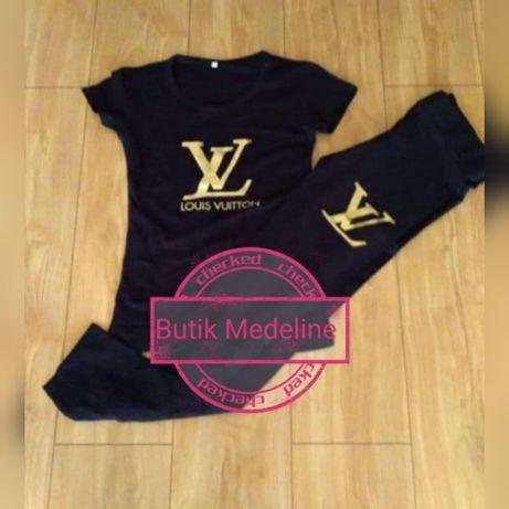 Komplety koszulka i leginsy s do XL