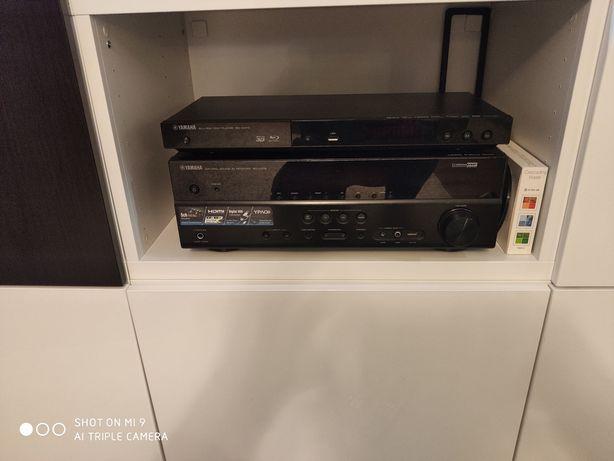 Zestaw kina domowego Yamaha RX-V375 + BLU-RAY BD-s473