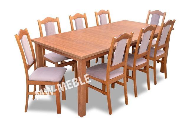 Piękny Stół Rozkładany 160x90/200 + 8 Krzeseł BIS W Super Cenie!!