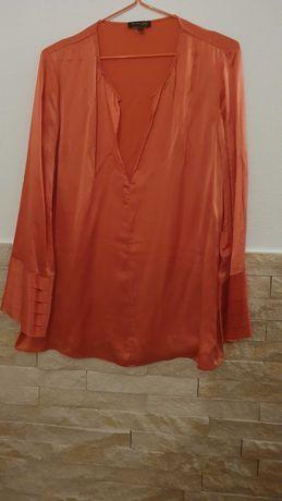 Blusa da Máximo Dutti usada uma vez em seda