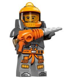 LEGO ОРИГИНАЛ Космический шахтёр Series 12 Space Miner 71007 -