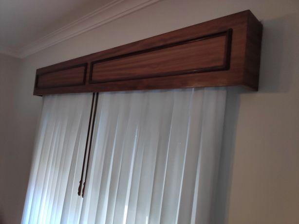 Sanefa para cortinas