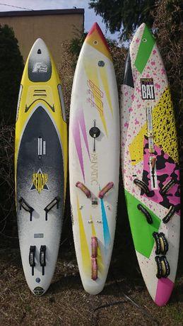 deska windsurfing 3szt , żagle windsurfing 9 szt, osprzęt windsurfing