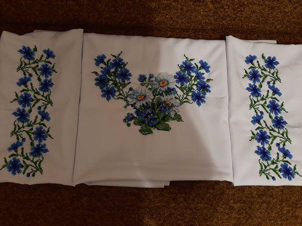 Продам вышитую заготовку бисером(блуза)