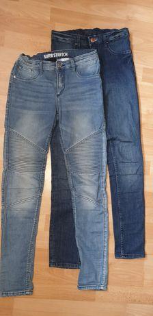 Spodnie dżinsowe H&M rozmiar 152