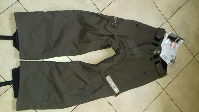 Spodnie narciarskie 140 cm 10 lat Quicksilver nowe z metka