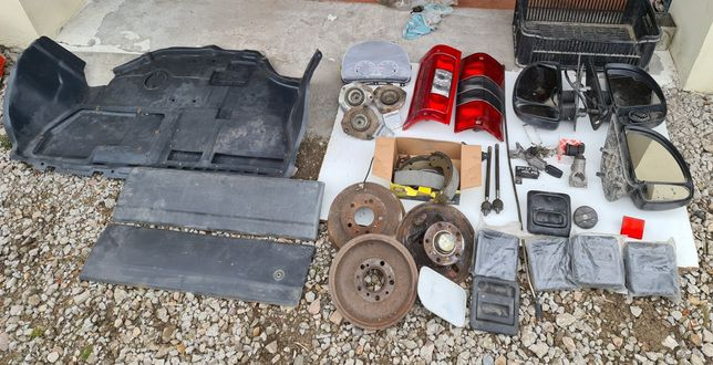 Fiat DUCATO Jumper Boxer CZĘŚCI osłona silnika, bębny, lusterka, lampy