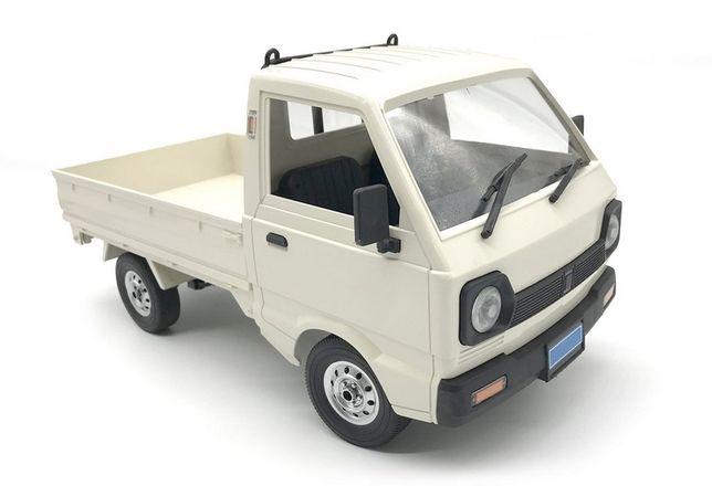 Carro Carrinha RC caixa aberta Pickup Suzuki Carry WPL D12 RTR 1:10