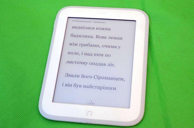 Электронная книга NOOK GlowLight Подсветка Wi-Fi Сенсорная