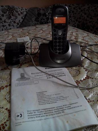 Продам радиотелефон Panasonic KX-TG1107UA